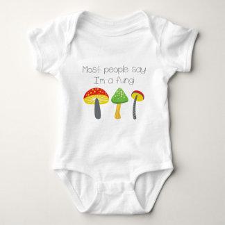 Die meisten Leute sagen, dass ich Pilze bin Baby Strampler