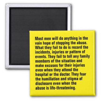 Die meisten Männer tun alles in der vergebenen Quadratischer Magnet