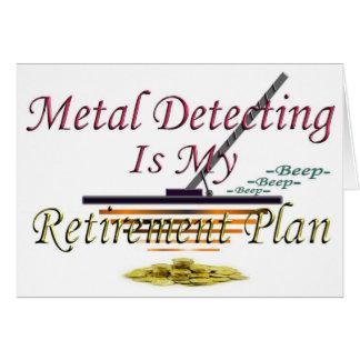 Die Metallentdeckung ist- mein Ruhestandsplan Karte