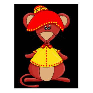 Die mexikanische Maus des Kindes Postkarten