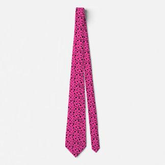 Die Mode-stilvoller Spaß der Tupfen-rosa Männer Krawatte