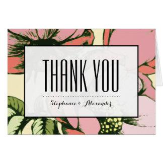 Die modernen Watercolor-Rosen danken Ihnen Karten