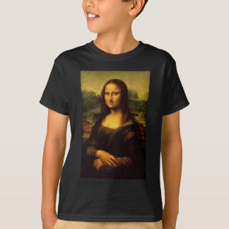 Die Mona Lisa durch Leonardo da Vinci C. 1503-1505 T-Shirt