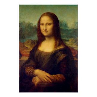 Die Mona Lisa durch Leonardo da Vinci Poster