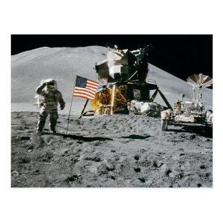 die Mondfähre-NASA 1971 Mondlandung Apollo 15 Postkarte