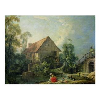 Die Mühle, 1751 Postkarte