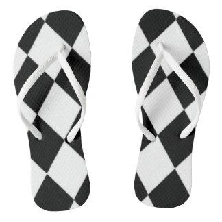 Die Multi-Arten der Laufen-Fan-Unisex--Diamanten Flip Flops