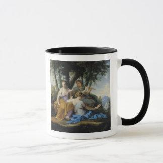 Die Musen, Clio, Euterpe und Thalia, c.1652-55 Tasse