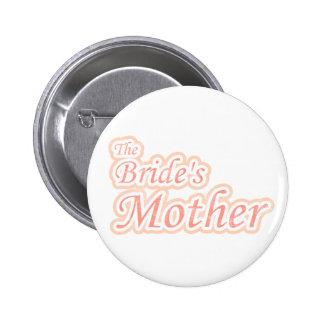 Die Mutter der Extravaganz-Braut Runder Button 5,7 Cm