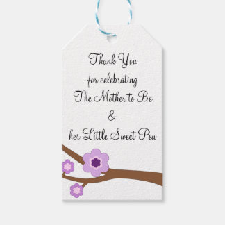 Die Mutter zum zu sein und ihr kleines süße Geschenkanhänger