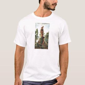 Die mystische Blume durch Gustave Moreau T-Shirt