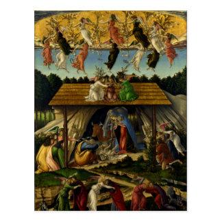 Die mystische Geburt Christi - Botticelli Postkarte