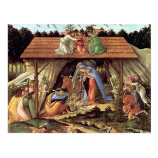 Die mystische Geburt Christi Postkarte