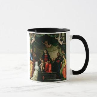 Die mystische Heirat von St. Catherine von Siena Tasse