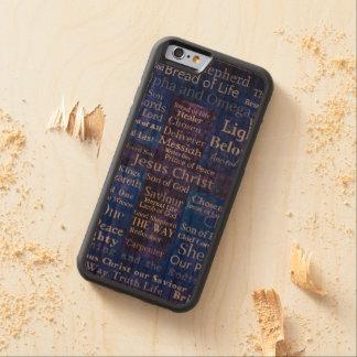 Die Namen der Jesus Christusblauen Querkunst Bumper iPhone 6 Hülle Kirsche