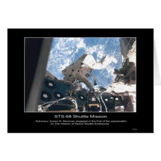 Die NASA-Astronauten-James H. Newman Spacewalk Karte
