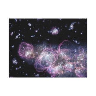Die NASA-Baby-Galaxie im Raum Leinwanddruck