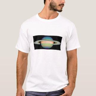 Die NASA - Eine Infrarotansicht von Saturn T-Shirt