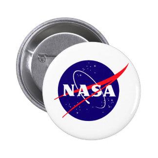 Die NASA-Fleischklöschen-Logo Buttons