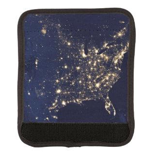 Die NASA-Lichter vom Raum USA Gepräckgriffwickel