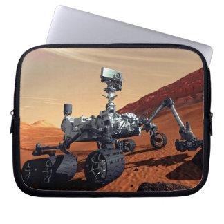 Die NASA-Mars-Neugier-Vagabund-Künstler-Konzept Laptopschutzhülle