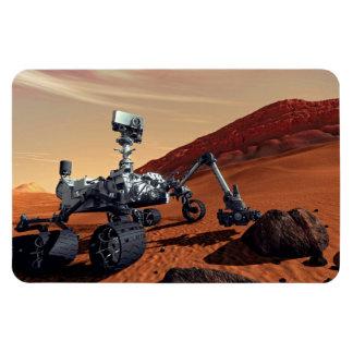 Die NASA-Mars-Neugier-Vagabund-Künstler-Konzept Magnet