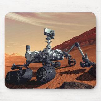 Die NASA-Mars-Neugier-Vagabund-Künstler-Konzept Mauspads