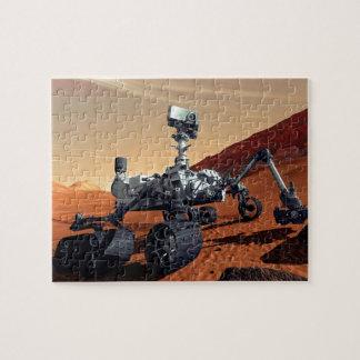 Die NASA-Mars-Neugier-Vagabund-Künstler-Konzept Puzzle