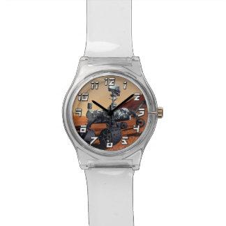 Die NASA-Mars-Neugier-Vagabund-Künstler-Konzept Uhr