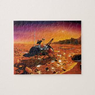 Die NASA-Marspolare Lander-Künstler-Konzept-Grafik Puzzle