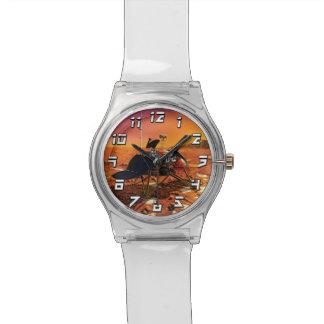 Die NASA-Marspolare Lander-Künstler-Konzept-Grafik Uhr