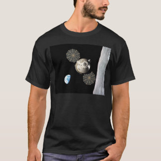Die NASA Orion in der Mondbahn T-Shirt