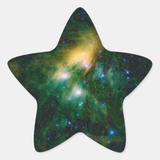 Die NASA Pleiades Stern-Aufkleber