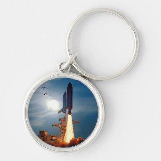 Die NASA-Raumfähre-Entdeckungs-Produkteinführung Schlüsselanhänger