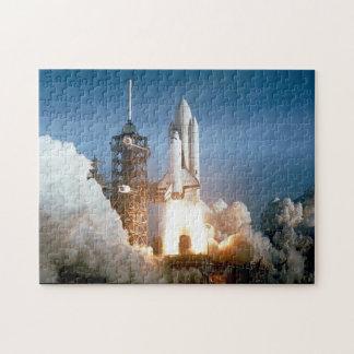 Die NASA-Raumfähre-Kolumbien-Produkteinführung Puzzle