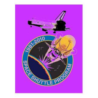 Die NASA-Raumfähre-Programm 1981-2010 Postkarte