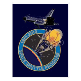 Die NASA-Raumfähre-Programm Postkarte