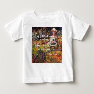 Die Natur in Monets Art. Baby T-shirt