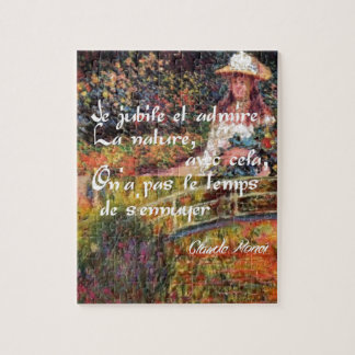 Die Natur in Monets Art. Puzzle