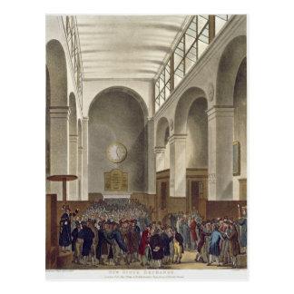 Die neue Börse, Bartholomew Weg Postkarte