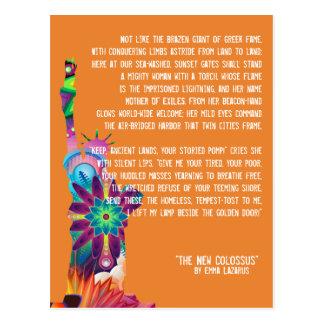 Die neue Koloss-Postkarte Postkarte