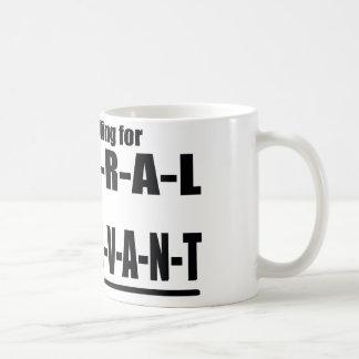 die neue Rechtschreibung für LIBERALEN ist Kaffeetasse