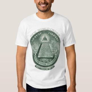 Die neue Weltordnung Annuit Coeptis T Shirt
