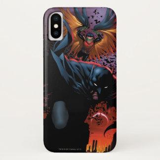 Die neuen 52 - Batman und Robin #1 iPhone X Hülle