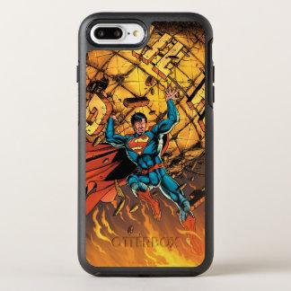 Die neuen 52 - Supermann #1 OtterBox Symmetry iPhone 8 Plus/7 Plus Hülle