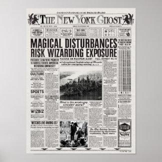 Die New- Yorkgeist-Zeitung Poster