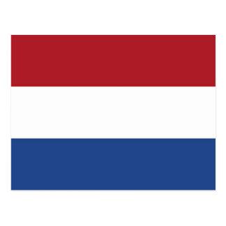 Die Niederlande, Flagge Postkarte