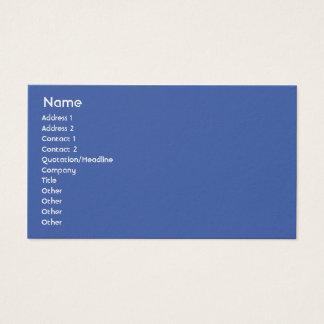 Die Niederlande - Geschäft Visitenkarte
