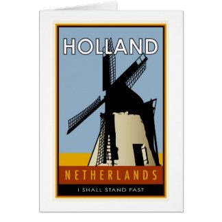 die Niederlande Karte