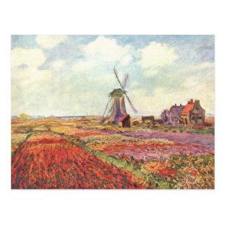 Die Niederlande - Monet Postkarte